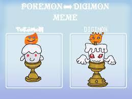 Pokemon Evolution Meme - pokemon digimon meme candlemon by xarti on deviantart