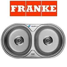 FRANKE ROUND DOUBLE  BOWL DRAINER Amp WASTE STAINLESS STEEL - Frank kitchen sink