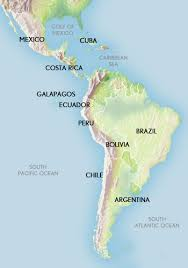 map of mexico south america america travel south america tours