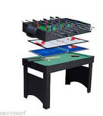 4 in one game table new deluxe 4 in 1 multi games table pool table football table tennis