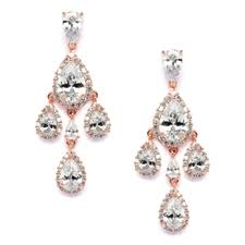 clip on chandelier earrings clip on earrings wholesale bridal wedding prom jewelry