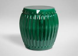 emerald emerald drum table accent tables