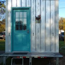steel frame lightweight thow on or off grid tiny house listings