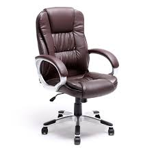 brown leather executive office chair alphason northland on