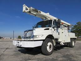 international 4400 bucket trucks boom trucks in iowa for sale