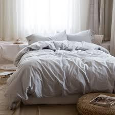 online get cheap linen bedding grey aliexpress com alibaba group