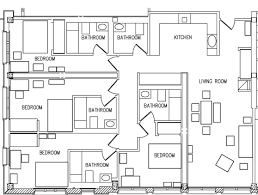 four bedroom floor plans munger graduate residence stanford r de