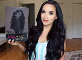 lilly hair extensions bellami hair extensions review tutorial