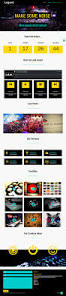 ordasoft legend is vivid and colorful joomla event template