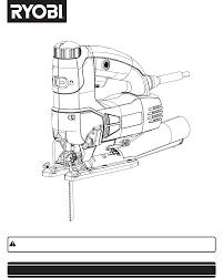 Ryobi Table Saw Manual Ryobi Saw Jig Saw User Guide Manualsonline Com