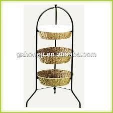 metal fruit basket 3 tier fruit basket stand walmart 3 tiered metal fruit stand