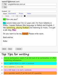 Example Of Introdu Introducing Yourself By Email Learnenglish Teens British Council
