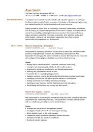 Resume For Bookkeeper Financial Cv Template Business Administration Cv Templates