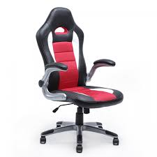 Swivel Bucket Chairs Office Chair Ergonomic Computer Pu Leather Desk Seat Race Car
