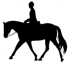 horse trail riding clipart clipartxtras