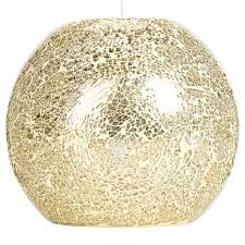 Mosaic Pendant Lighting by George Home Champagne Mosaic Pendant Light Shade Pendant