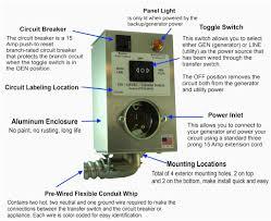 manual transfer switch wiring diagram portable generator beautiful