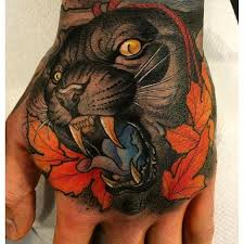 10 fearless neo traditional panther tattoos tattoodo
