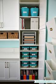 Organize Cabinets Organized Craft Supplies The Sunny Side Up Blog
