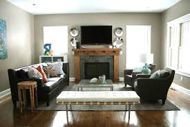 Interior Design Narrow Living Room by Arrange Furniture Around Fireplace Tv Interior Design Youtube