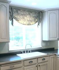 valance ideas for kitchen windows window valances modern landlinkmontana org