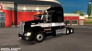 kenwood w900 kenworth t660 1 27 mod for ets 2