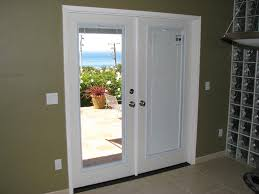stylish french doors with built in blinds u2014 john robinson house decor