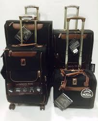 ultra light luggage sets london fog paddington 4pc ultra light luggage set expandable black