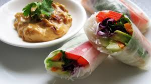 where to buy rice wrappers fresh rolls with peanut sauce vegangela