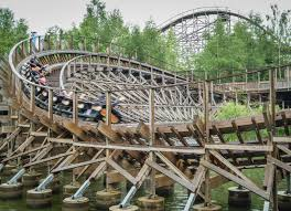El Toro Roller Coaster Six Flags Great Coasters International Gci Coasterforce