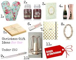 10 christmas gift ideas for her plus a bonus idea all at 50 or
