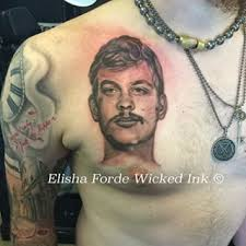 fascinating famous serial killer tattoos tam blog part 3