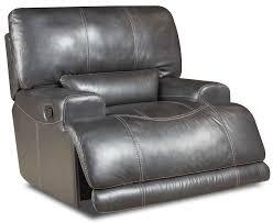 denton leather power reclining sofa denton power recliner frontroom furnishings