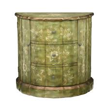 sterling industries fauna demi console green silver products