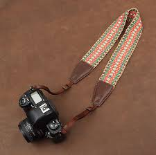 Comfortable Camera Strap Colorful Universal Cotton Soft Comfortable Camera Strap Neck