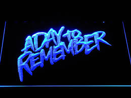 a day to remember homesick led neon sign safespecial