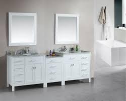 design element bathroom vanities design element 92 inch modern bathroom vanity set