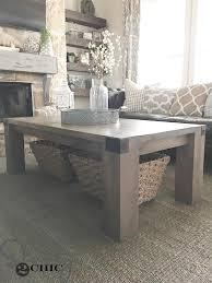 Industrial Coffee Table Diy Modern Farmhouse Coffee Table And How To Shanty 2 Chic