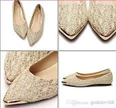 wedding shoes chagne flat pointed toe wedding shoes search wedding shoes