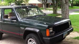 old jeep grand cherokee my 1994 jeep cherokee sport youtube