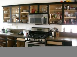 Refinishing Kitchen Cabinets Cost Kitchen With Green Cabinets And White Tile Backsplash Spray