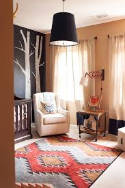 Aztec Style Rugs Nursery Inspiration Serene Or Bold Elements Of Style Blog
