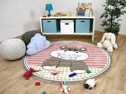 teppich kinderzimmer rund bei teppichversand24 günstige kinderteppiche spielteppiche für