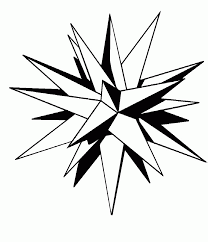 jesus light of the world coloring page moravian star coloring