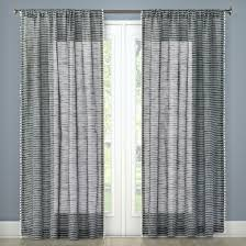 Sheer Navy Curtains Cheerful Target Navy Curtains Pom Stripe Window Sheer Threshold