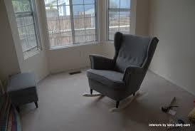 ikea hack diy wingback rocking chair ikea decora ikea hack strandmon rocker diy wingback rocking chair