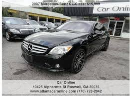 mercedes in ga mercedes cl class for sale in carsforsale com