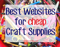 saving on craft supplies including beads scrapbook paper crochet