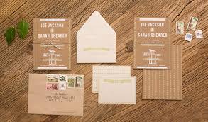 customizable wedding invitations joe s diy rustic screen printed wedding invitations