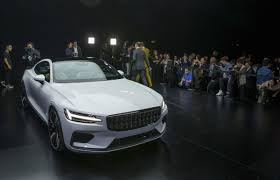 volvo electric car volvo reveals its first polestar electric car toronto star
